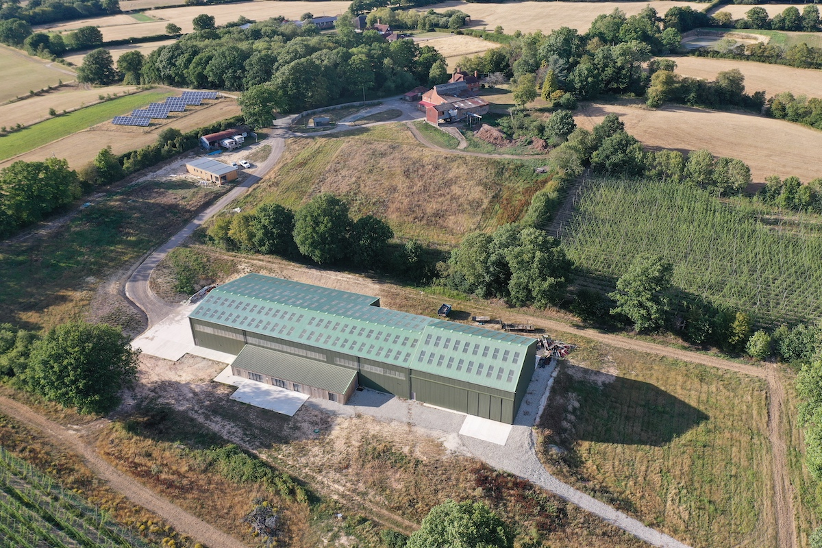 Hukins Hop Picking Facility – Open For Business